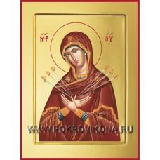 Умягчение злых сердец (Семистрельная) икона Божией Матери