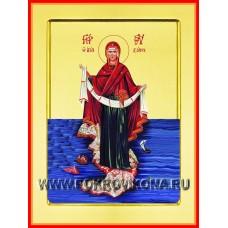 Пояс Богородицы икона Божией Матери