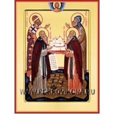 Преподобные Герман, Зосима, Савватий и Филипп Соловецкие