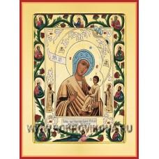 Хлебная икона Божией Матери