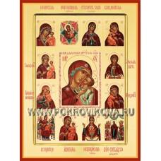 Суздальская икона Божией Матери