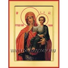 Отрада (Утешение) икона Божией Матери