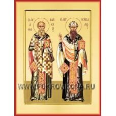 Афанасий и Кирил Александрийские