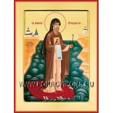 Святой преподобный Василий Рязанский