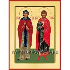 Бессребренники, мученики Иоанн и Кир