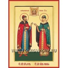 Святые благоверные князь Петр и княгиня Феврония, в иночестве Давид и Евфросиния, Муромские чудотворцы