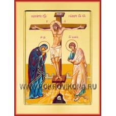 Распятие с Предстоящими (византийское)
