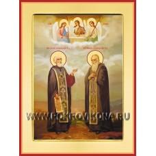 Преподобные Никон и Сергий Радонежские