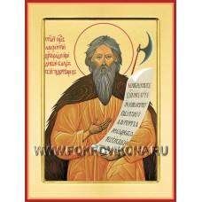 Святой праведный Лаврентий, Христа ради юродивый, Калужский чудотворец