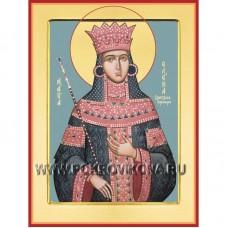Преподобная Елена Сербская, Королева