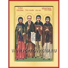 Преподобный Ксенофонт, супруга его Мария и сыновья их Аркадий и Иоанн