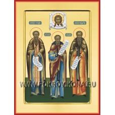 Преподобные Зосима, Герман и Савватий