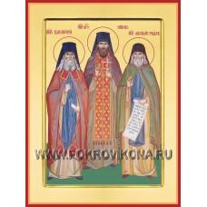 Преподобные Анатолий, Варсонофий и Никон Оптинские