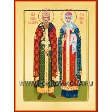Равноапостольный князь Владимир и княгиня Ольга