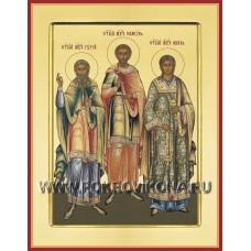 Святые Гурий, Самон и Авивь